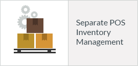 Separate POS Inventory Management