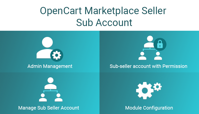 OpenCart Marketplace Seller Sub Account