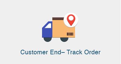 Customer End– Track Order