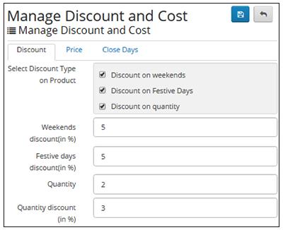Discount Types