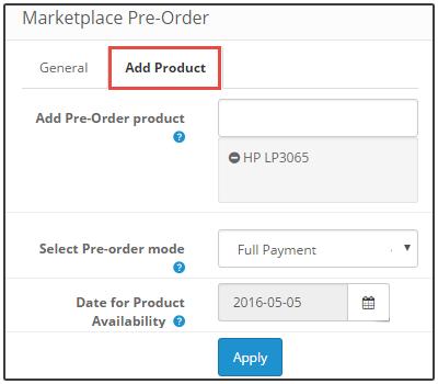 Admin product Management