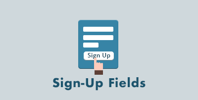 Sign-Up Fields