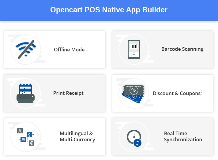 Opencart POS Native App Builder