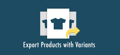 Export Products with Variants