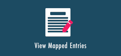 View Mapped Entries