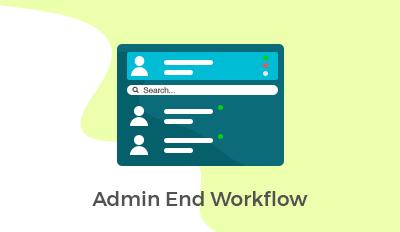 Admin End Workflow