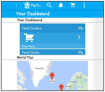 Seller dashboard