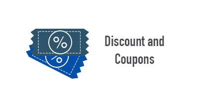 Discount and Coupons