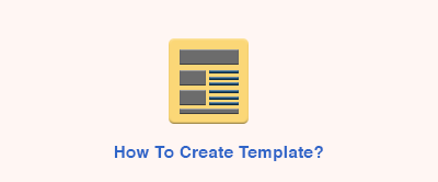Creation of Template for Web To Print Via Admin
