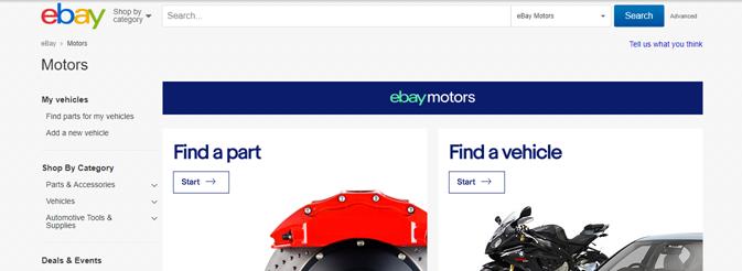 ebay motors integration