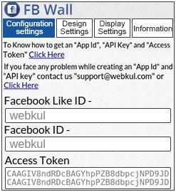 Shopify FB Wall