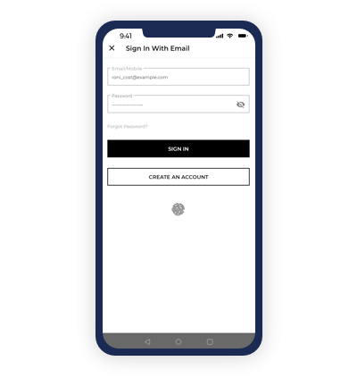 Sign-in Via Fingerprint(Coming Soon)
