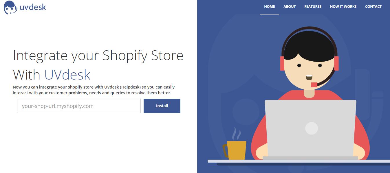 Shopify UVdesk