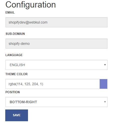 UVdesk Configuration