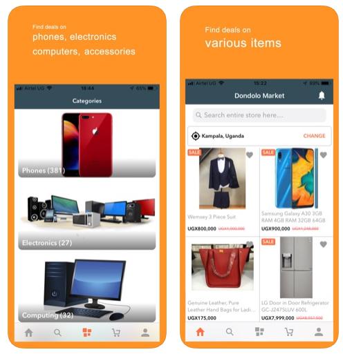 Dondolo Seller Mobile App