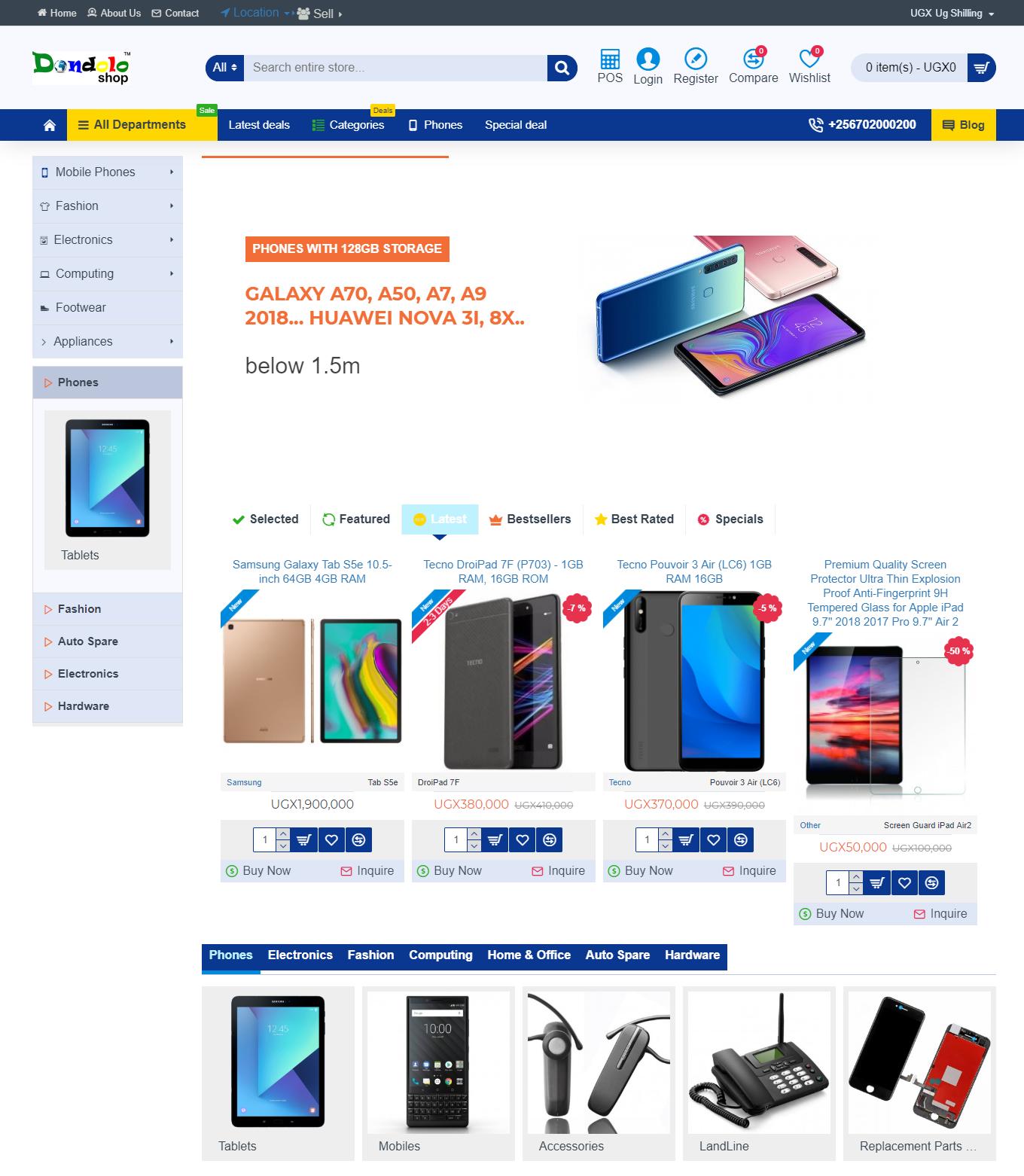 Dondolo Shop - Website