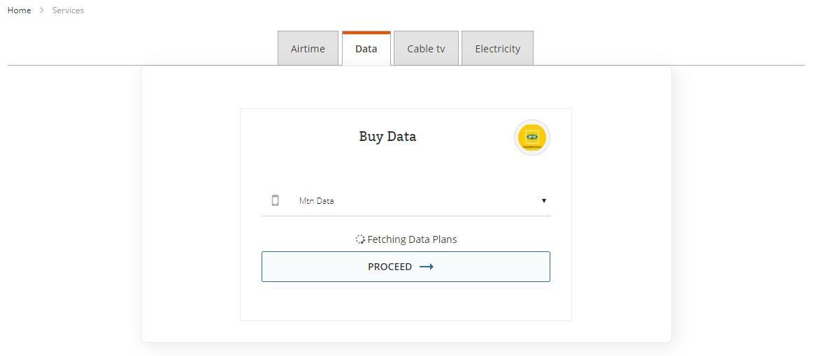 Fetch Data Plans