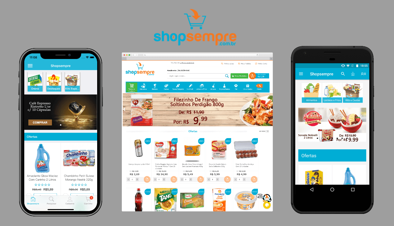 Shopsempre mobile app