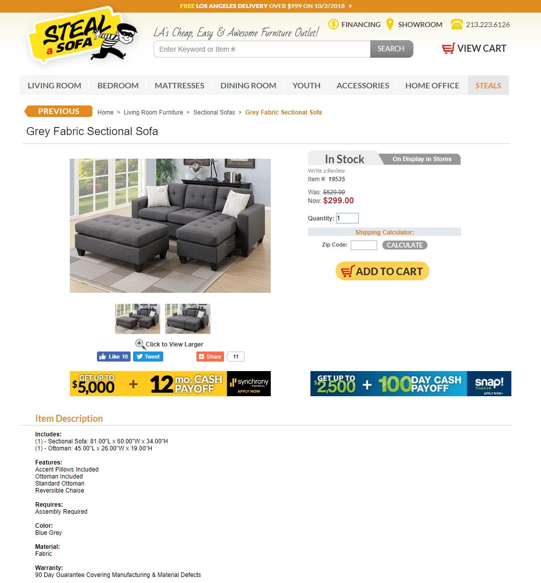 Steal-a-Sofa