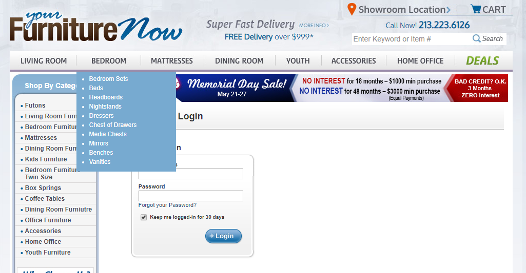 Managing Complex Product Attributes For La S Best Furniture Outlet Success Story Webkul