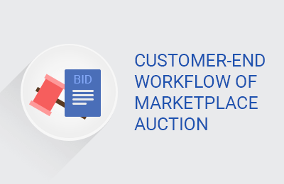 Customer-End Workflow of Marketplace Auction
