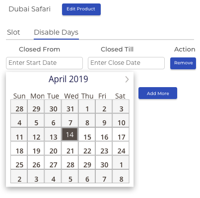 Flexible Exclude Days & Slot Rules