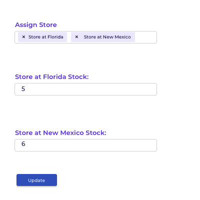 Assign Stock