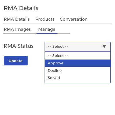 Easy RMA Management