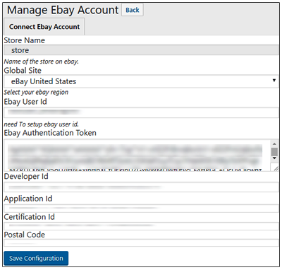 Connect Multiple eBay Accounts