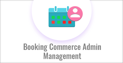 Booking Commerce Admin Management
