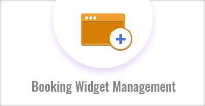 Booking Widget Management