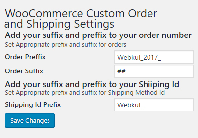 Custom Order Prefix for WordPress WooCommerce