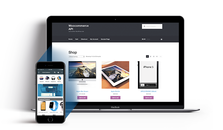 WooCommerce Mobile App Builder