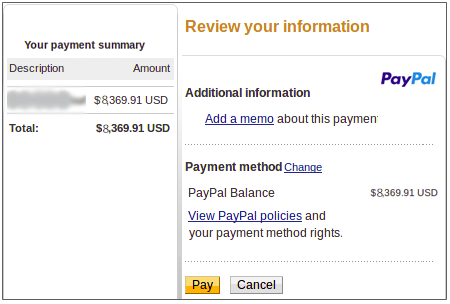 Delayed Chained Payments