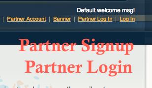 b2b magento marketplace login form