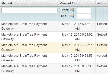braintree transaction
