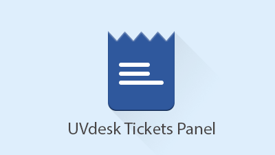 UVdesk Tickets Panel