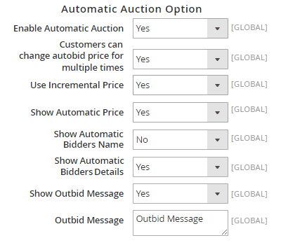 Automatic Auction