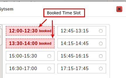 magento booking and reservation time slot