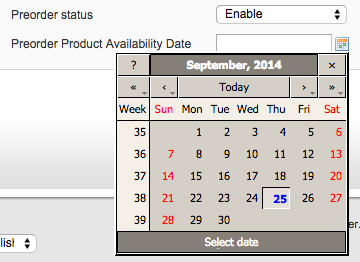 magento pre order product management