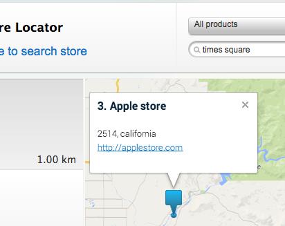 magento store locator google map marker