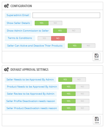 Manual / Auto Approval Configuration